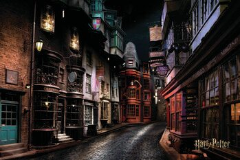 Art Poster Harry Potter - Diagon Alley