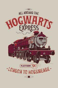 Impressão de arte Harry Potter - Expresso de Hogwarts
