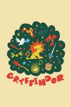 Poster Harry Potter - Gryffindor