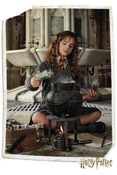 Art Poster Harry Potter - Hermione Granger