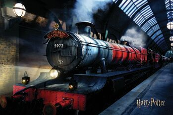 Art Poster Harry Potter - Hogwarts Express