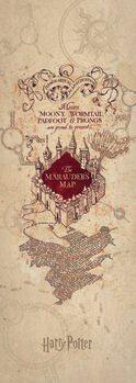 Impressão de arte Harry Potter - Marauder's Map