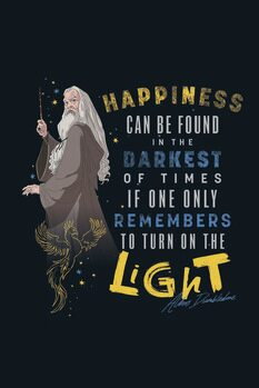 Art Poster Harry Potter - Quote