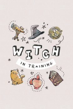Poster Harry Potter - Witch in training