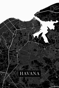 Map Havana black
