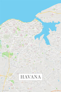 Map Havana color
