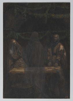 Reprodução do quadro He Vanished from Their Sight