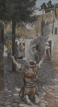Taidejuliste Healing of the Lepers at Capernaum