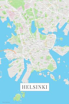 Map Helsinki color