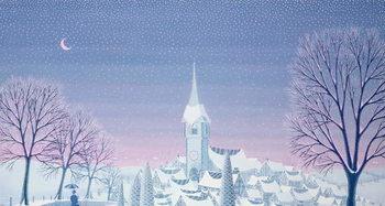Taidejuliste Henri's winter innocence