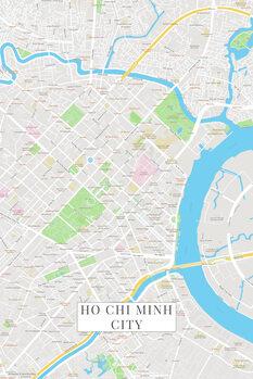 Map Ho Chi Minh City color