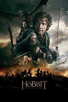Juliste Hobitti – Viiden armeijan taistelu
