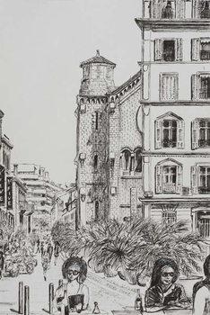 Reprodução do quadro Hotel 5 and Notre Dame Cannes, 2014,