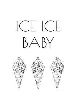 Ilustração Ice Baby