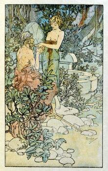 Fine Art Print Illustration by Alphonse Mucha from Clio