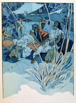 Fine Art Print Illustration by Alphonse Mucha