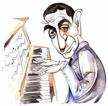 Fine Art Print Irving Berlin - caricature