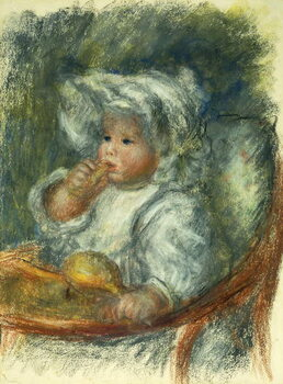 Fine Art Print Jean Renoir in a chair