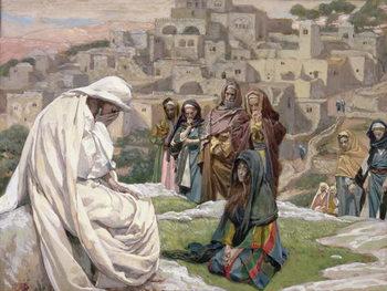Reprodução do quadro Jesus Wept