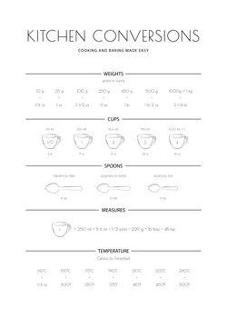 Illustration Kitchen Conversions