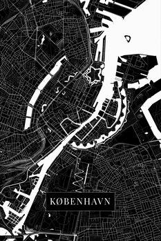 Map København black