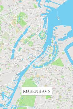 Map København color