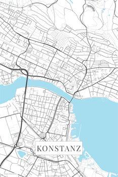 Map Konstanz white