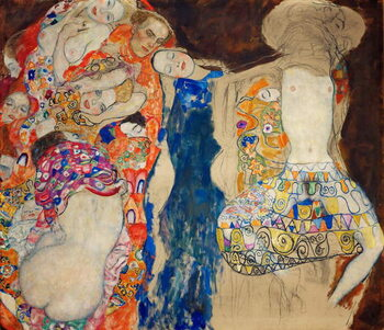 Taidejuliste La Mariee - The Bride - Klimt