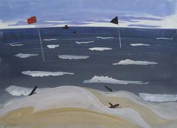 Taidejuliste La Mer par Mistral, 1987