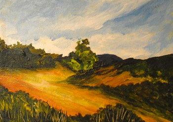 Fine Art Print La route de Thiote, 2014