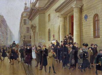 Fine Art Print Leaving the Lycee Condorcet, 1903
