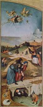 Fine Art Print Left wing of the Triptych of the Temptation of St. Anthony