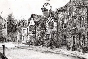 Taidejuliste Leigh Arms Prestbury, 2009,