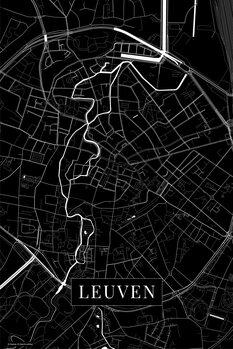 Map Leuven black