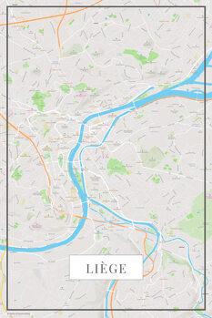 Map Liege color