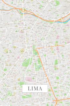 Map Lima color