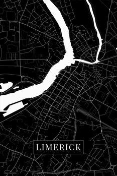 Map Limerick black