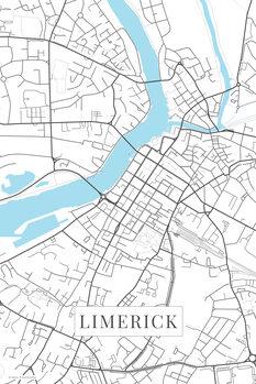 Map Limerick white