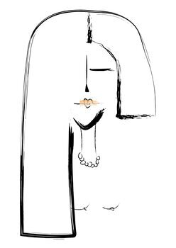 Ilustração Lipstick