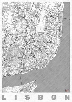 Map Lisbon