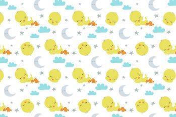 Art Poster Looney Tunes - Sleeping Tweety
