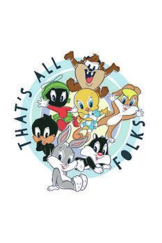 Art Poster Looney Tunes - Small characters