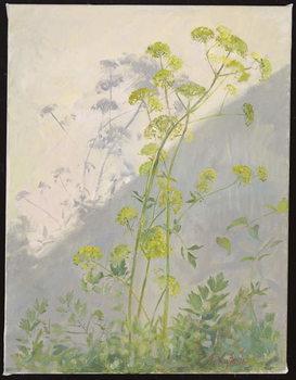 Reprodução do quadro Lovage Against Diagonal Shadows, 1999