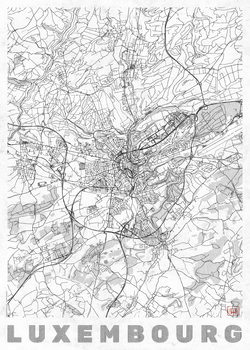 Kartta Luxembourg