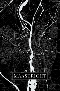 Map Maastricht black