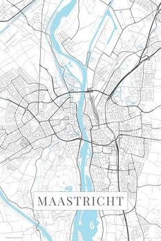 Map Maastricht white