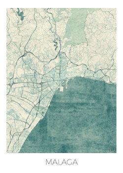 Map Malaga