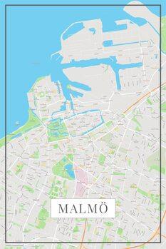 Map Malmo color