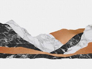 Illustration Marble Landscape I