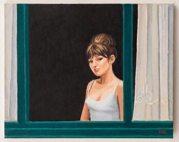Taidejuliste Marie-France at the Window